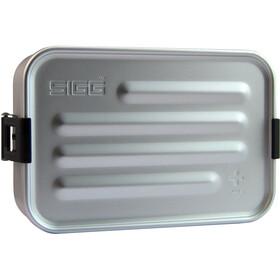 Sigg Plus Metalen Box S, zilver
